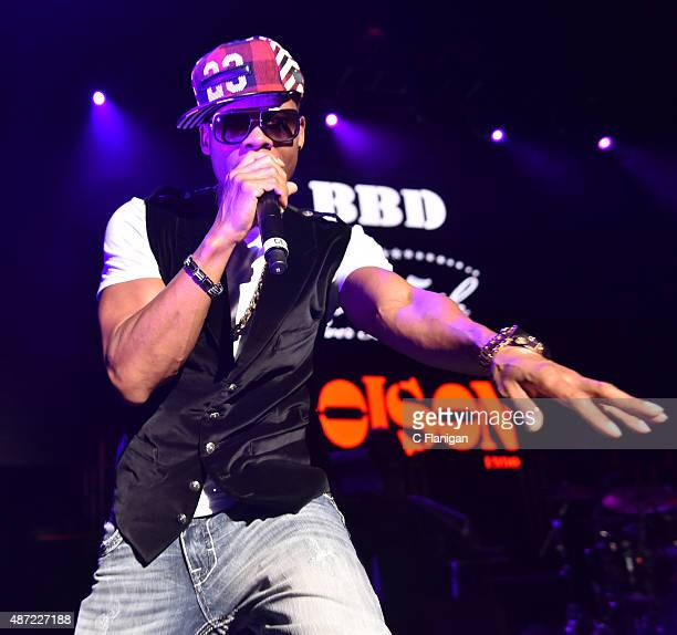 Ronnie Devoe of Bell Biv Devoe performs during KBLX Hot Summer Night at Concord Pavilion on September 6 2015 in Concord California