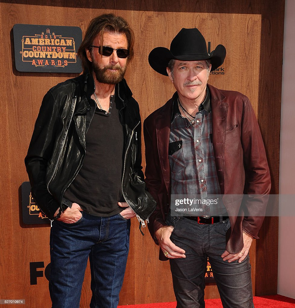 Ronnie Dunn and Kix Brooks of Brooks & Dunn attend the 2016 American Country Countdown Awards at The Forum on May 01, 2016 in Inglewood, California.