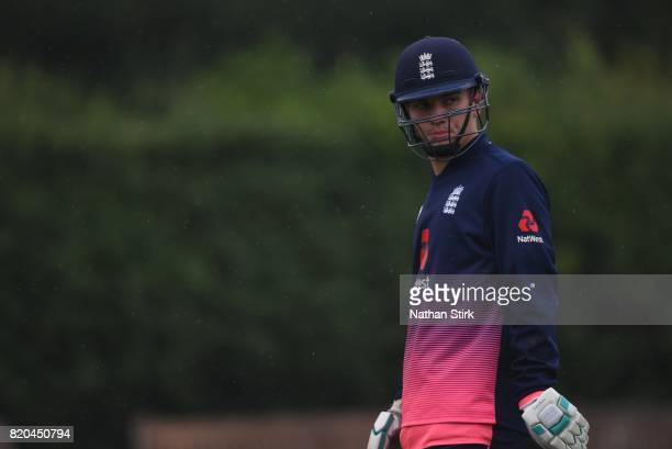 Ronnie Jackson of England looks on during the INAS Learning Disability TriSeries Trophy Final match between England and South Africa on July 21 2017...