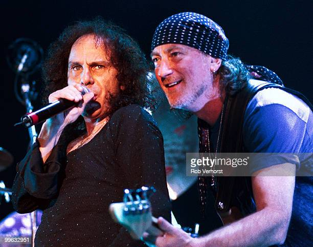 Ronnie James Dio and Roger Glover perform with Deep Purple at Ahoy on October 30th 2000 in Rotterdam Netherlands