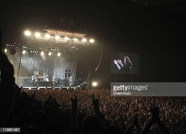 Ronnie James Dio of Heaven And Hell at Loud Park Festival Day 1 at Saitama Super Arena Saitama Japan