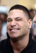 Ronnie Magro of 'Jersey Shore' arrives at the Australian premiere of 'American Pie Reunion' on March 7 2012 in Melbourne Australia