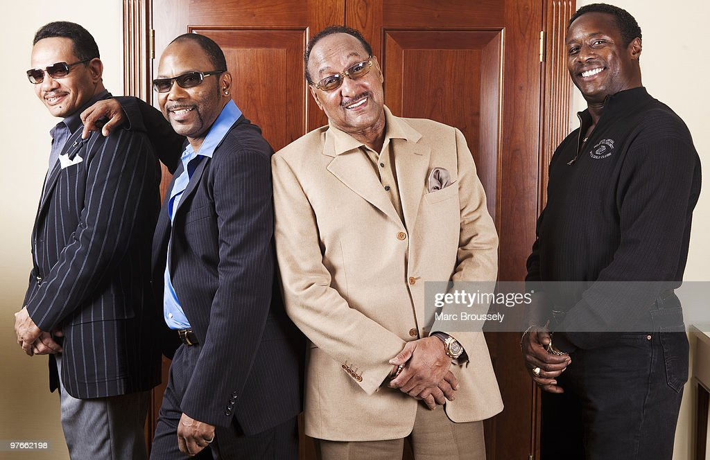 Exclusive: Four Tops And The Temptations Portrait Session