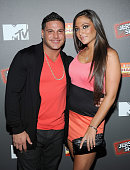 Ronnie OrtizMagro and Sammi 'Sweetheart' Giancola attend the 'Jersey Shore' Final Season Premiere at Bagatelle on October 4 2012 in New York City