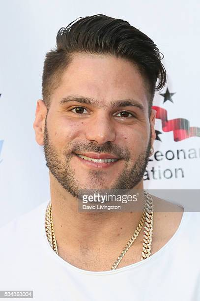 Ronnie OrtizMagro arrives at the 7th Annual Big Fighters Big Cause Charity Boxing Night Benefiting The Sugar Ray Leonard Foundation at The Ray Dolby...
