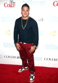 Ronnie OrtizMagro attends In Touch Weekly's 2013 Icons Idols event at FINALE Nightclub on August 25 2013 in New York City