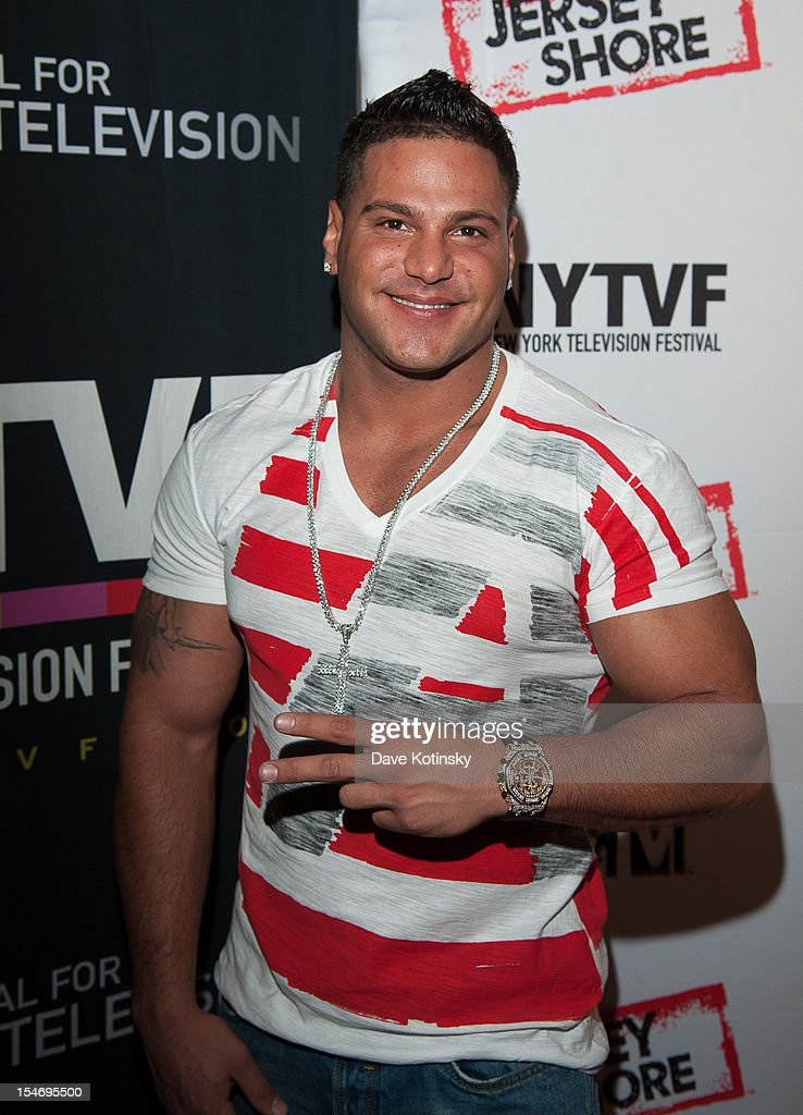 Ronnie Ortiz-Magro attends 'Love, Loss, (Gym, Tan) and Laundry: A Farewell To The Jersey Shore' during the 2012 New York Television Festival at 92Y Tribeca on October 24, 2012 in New York City.