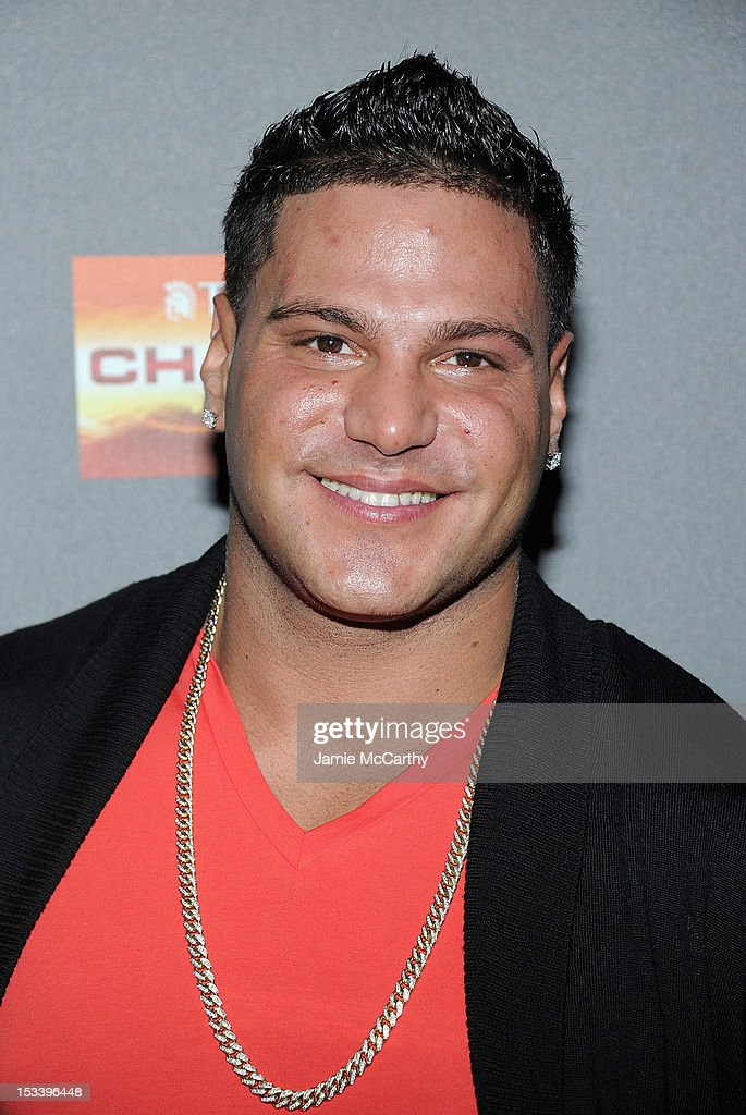 Ronnie Ortiz-Magro attends the 'Jersey Shore' Final Season Premiere at Bagatelle on October 4, 2012 in New York City.