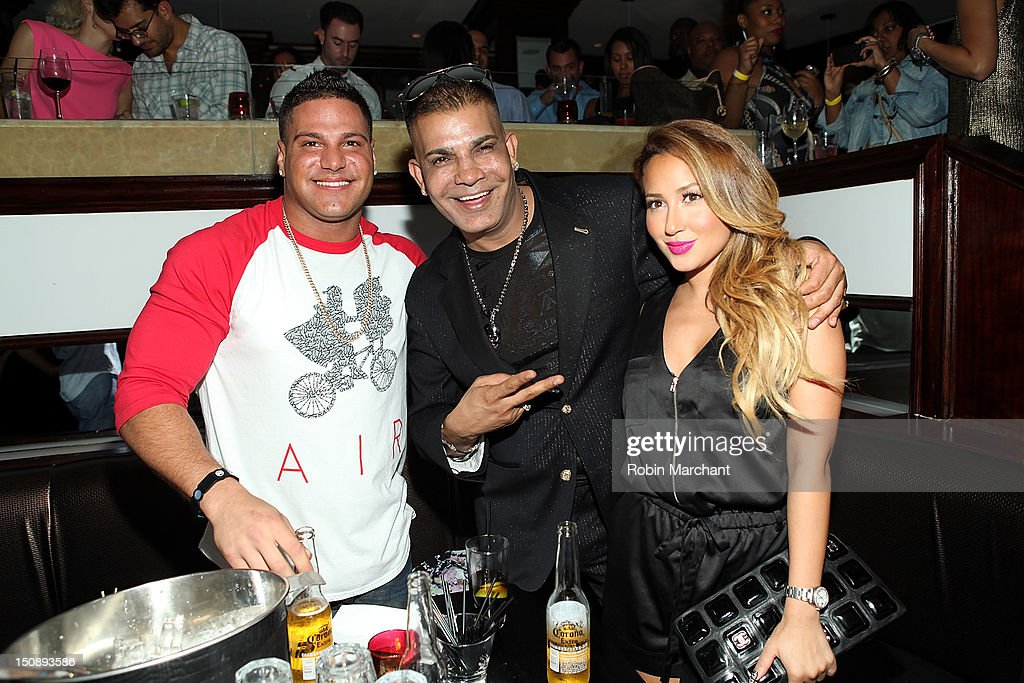 Ronnie OrtizMagro Prince Malik and Adrienne Bailon attend the 'So Bad' Video Launch Partyat 15 Watt Street on August 28 2012 in New York City