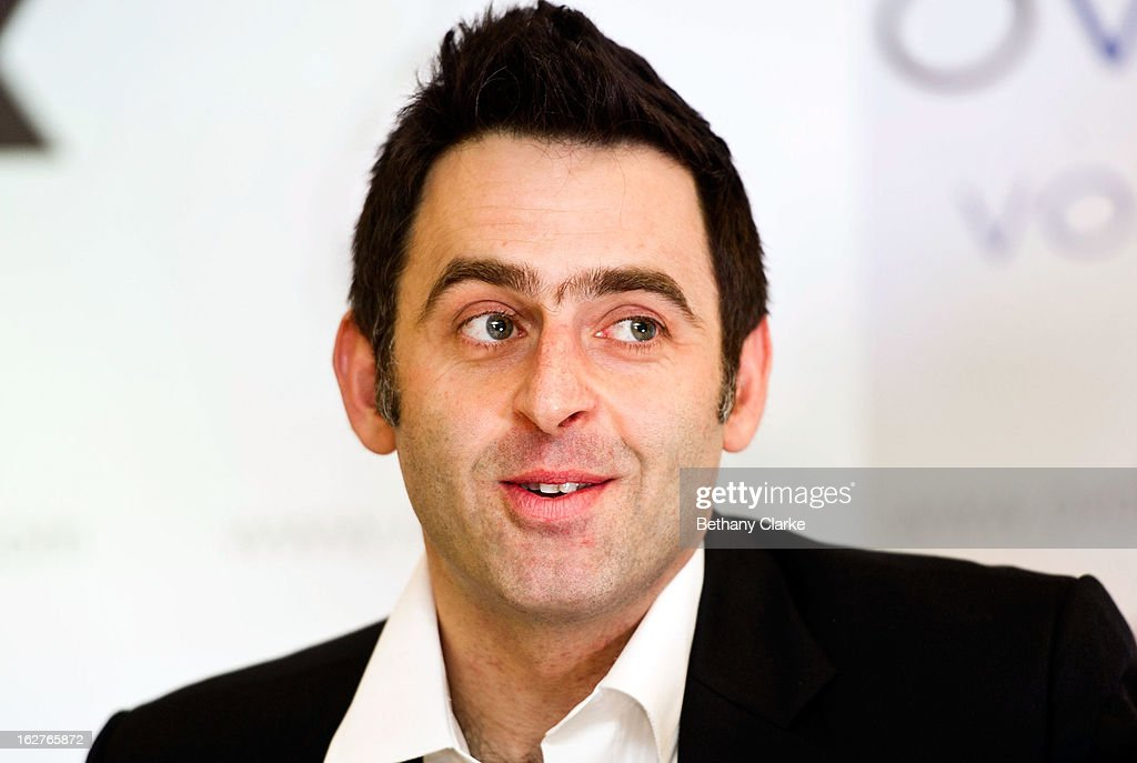 Ronnie O'Sullivan attends a press conference at Hilton London Metropole on February 26, 2013 in London, England. Reigning World Snooker Champion Ronnie O'Sullivan announced his comeback ahead of the upcoming World Snooker Championships in Sheffield in April 2013.