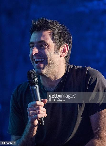 Ronnie O'Sullivan attends a QA for 'Ronnie O'Sullivan's American Hustle' at The Steel Yard on January 5 2017 in London England The four part...