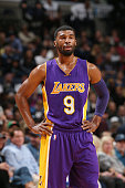 Ronnie Price of the Los Angeles Lakers during the game on November 11 2014 at FedEx Forum in Memphis Tennessee NOTE TO USER User expressly...
