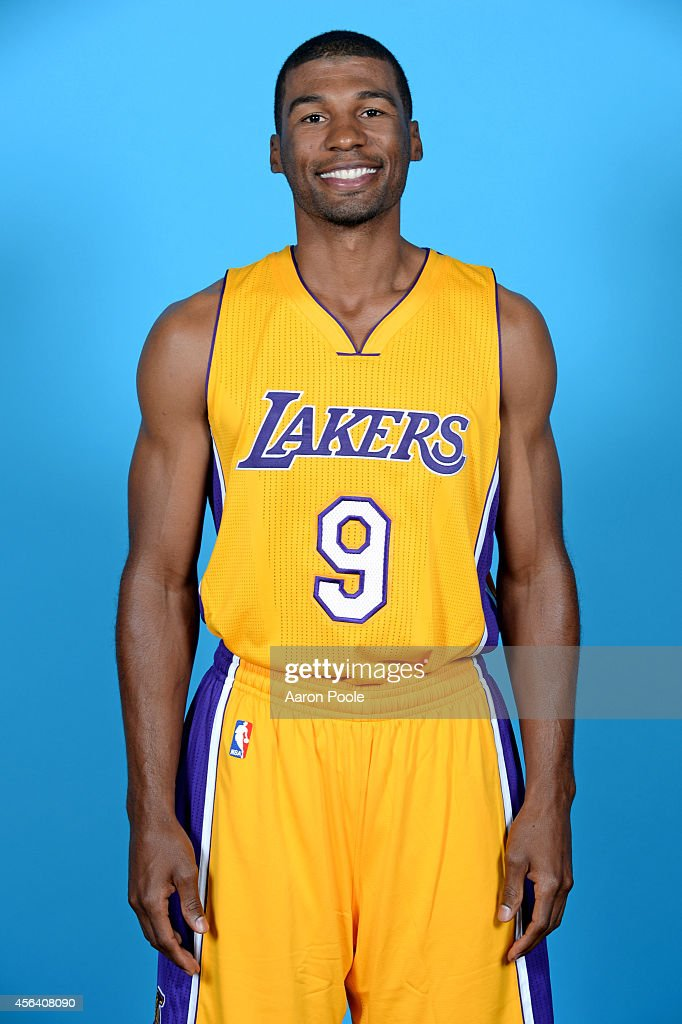 Ronnie Price of the Los Angeles Lakers poses for a portrait during the Los Angeles Lakers Media Day at the Toyota Sports Center on September 29 2014...