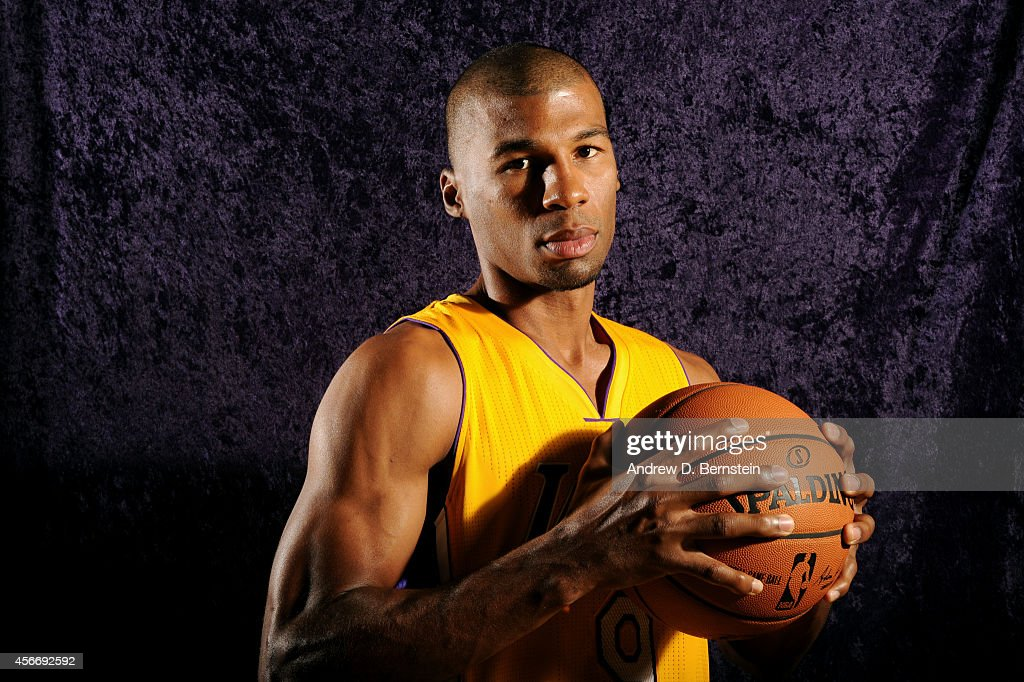 Ronnie Price of the Los Angeles Lakers poses for a portrait during training camp at the Toyota Sports Center in El Segundo CA on October 4 2014 NOTE...