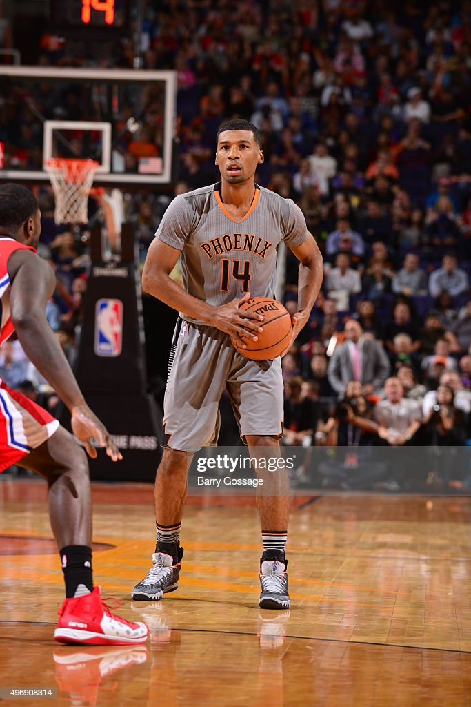 Ronnie Price of the Phoenix Suns handles the ball against the Los Angeles Clippers on November 12 2015 at Talking Stick Resort Arena in Phoenix...