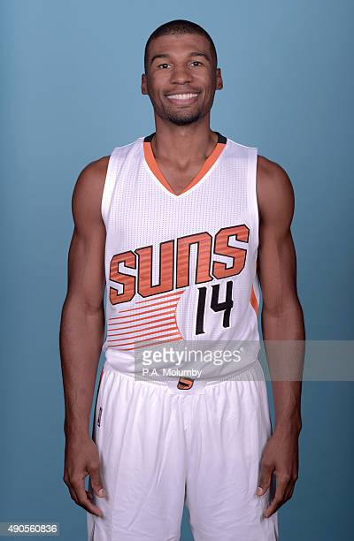 Ronnie Price of the Phoenix Suns poses for a portrait on Media Day on September 28 2015 at the Talking Stick Resort Arena in Phoenix Arizona NOTE TO...