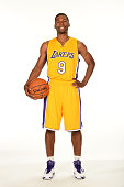 Ronnie Price poses for a portrait during the Los Angeles Lakers Media Day at the Toyota Sports Center on September 29 2014 in El Segundo California...