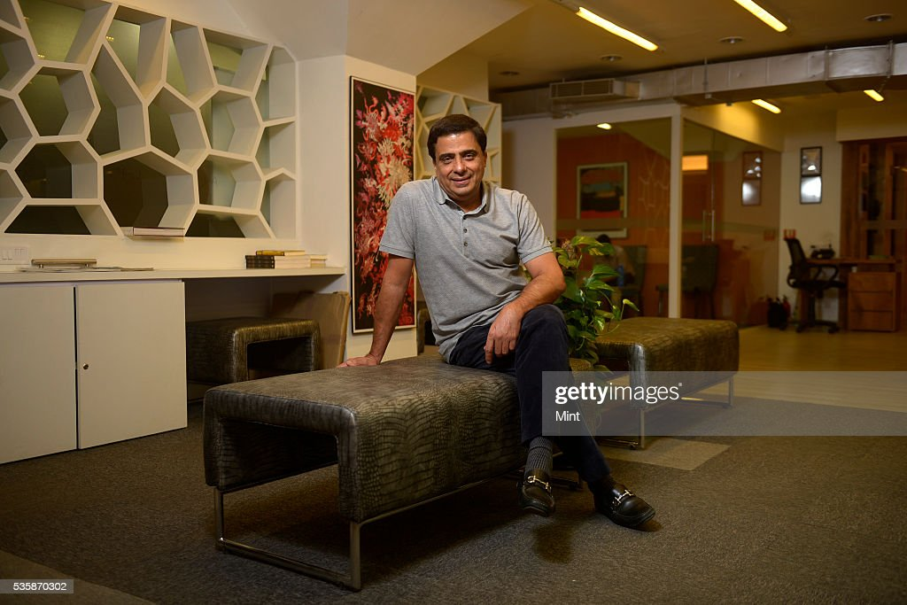 Ronnie Screwvala, founder of Unilazer Ventures Pvt. Limited, poses during an exclusive interview on December 14, 2015 in Mumbai, India.