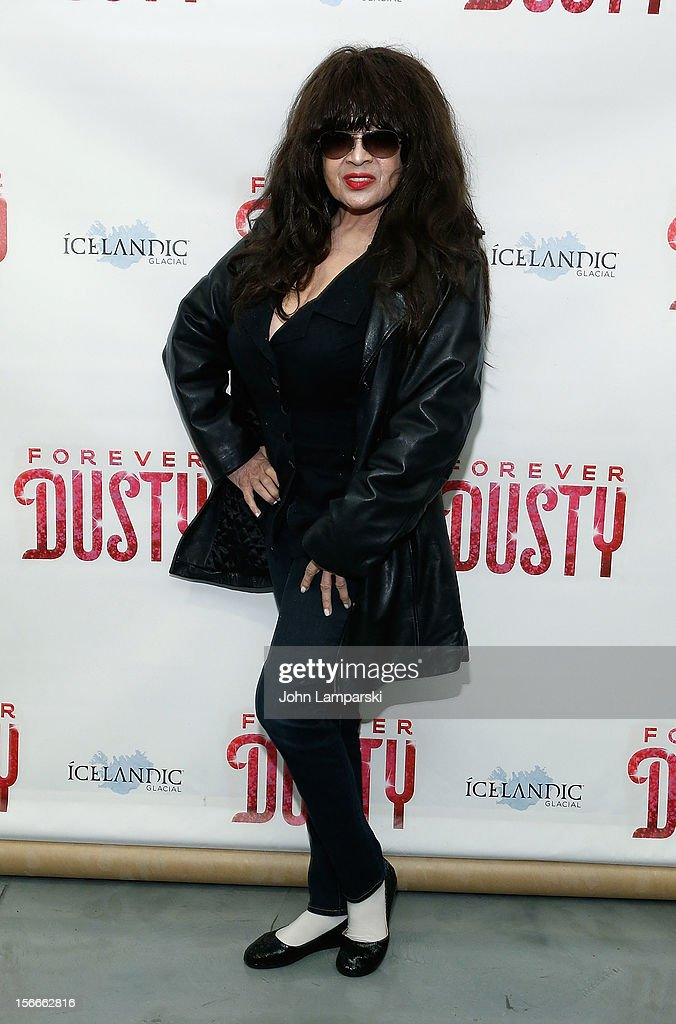 Ronnie Spector attends the 'Forever Dusty' Opening Night at New World Stages on November 18, 2012 in New York City.