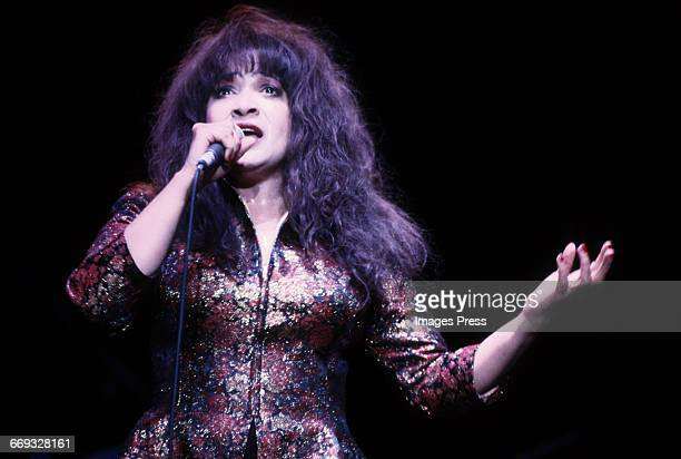 Ronnie Spector in concert circa 1992 in New York City