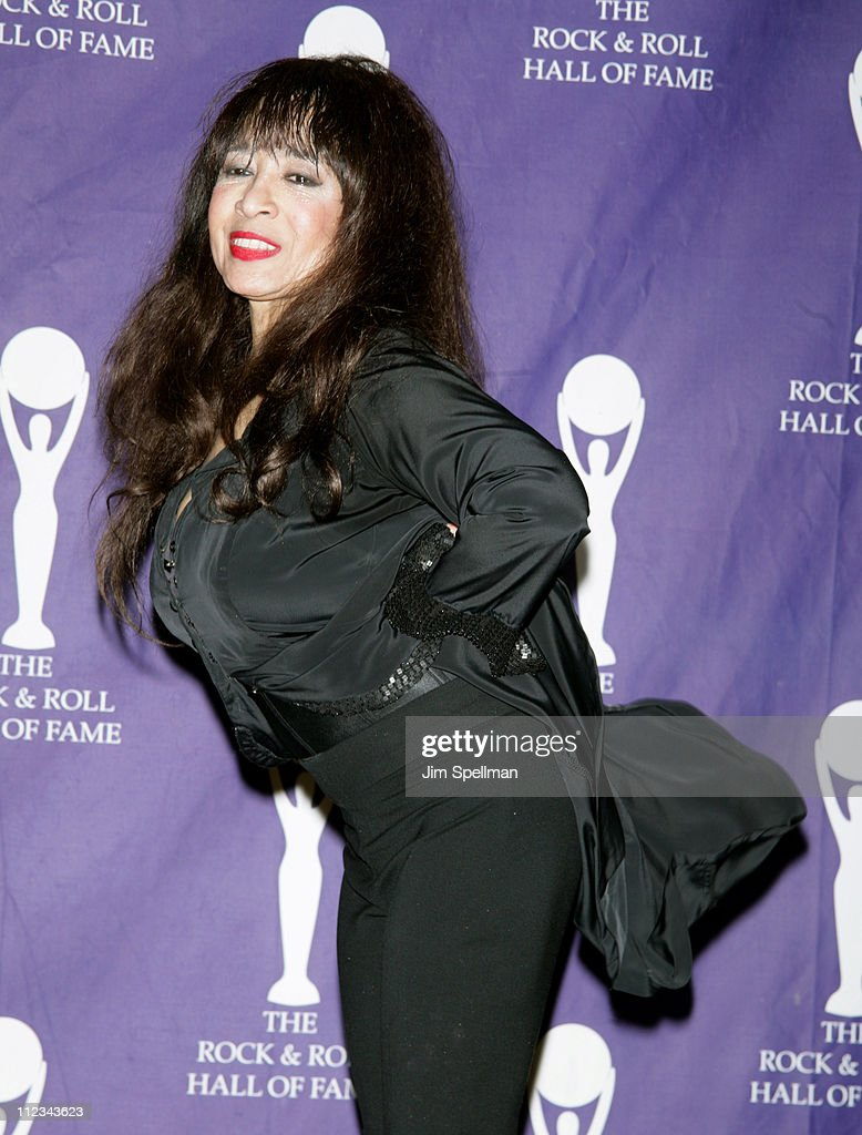 Ronnie Spector of The Ronettes, inductee during 22nd Annual Rock and Roll Hall of Fame Induction Ceremony - Press Room at Waldorf Astoria in New York City, New York, United States.