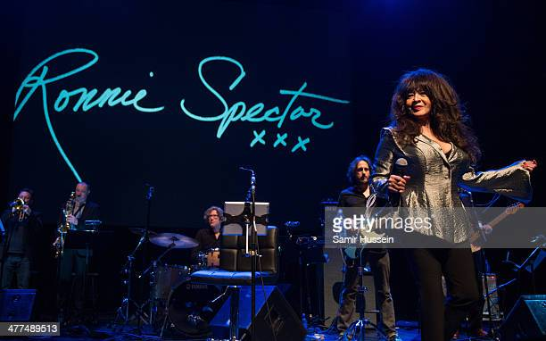Ronnie Spector performs live on stage during WOW Women of the World Festival at the Queen Elizabeth Hall Southbank Centre on March 9 2014 in London...