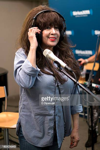 Ronnie Spector visits SiriusXM Studios on September 12 2013 in New York City