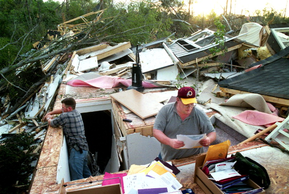 Papers on tornadoes