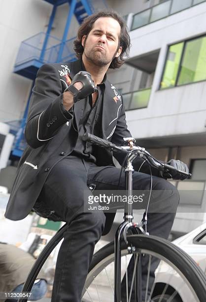 Ronnie Vannucci Jr of The Killers during The Killers 'Read My Mind' Video Shoot January 10 2007 in Tokyo Japan