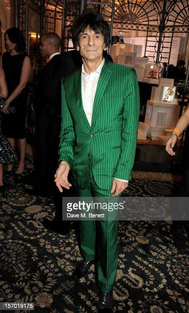 Ronnie Wood attends a drinks reception at the British Fashion Awards 2012 at The Savoy Hotel on November 27 2012 in London England