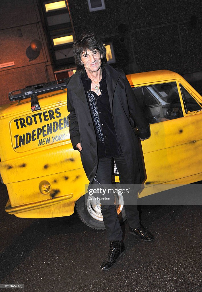 Ronnie Wood attends the Gold Nelson Mandela House launch, celebrating Only Fools at 30 on Gold on August 23, 2011 in London, England.