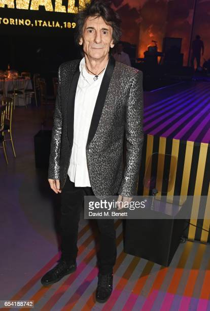 Ronnie Wood attends the Roundhouse Gala at The Roundhouse on March 16 2017 in London England