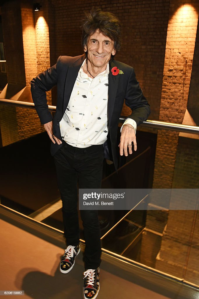 Ronnie Wood attends The Stubhub Q Awards 2016 at The Roundhouse on November 2, 2016 in London, England.
