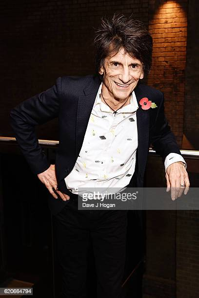 Ronnie Wood attends The Stubhub Q Awards 2016 at The Roundhouse on November 2 2016 in London England