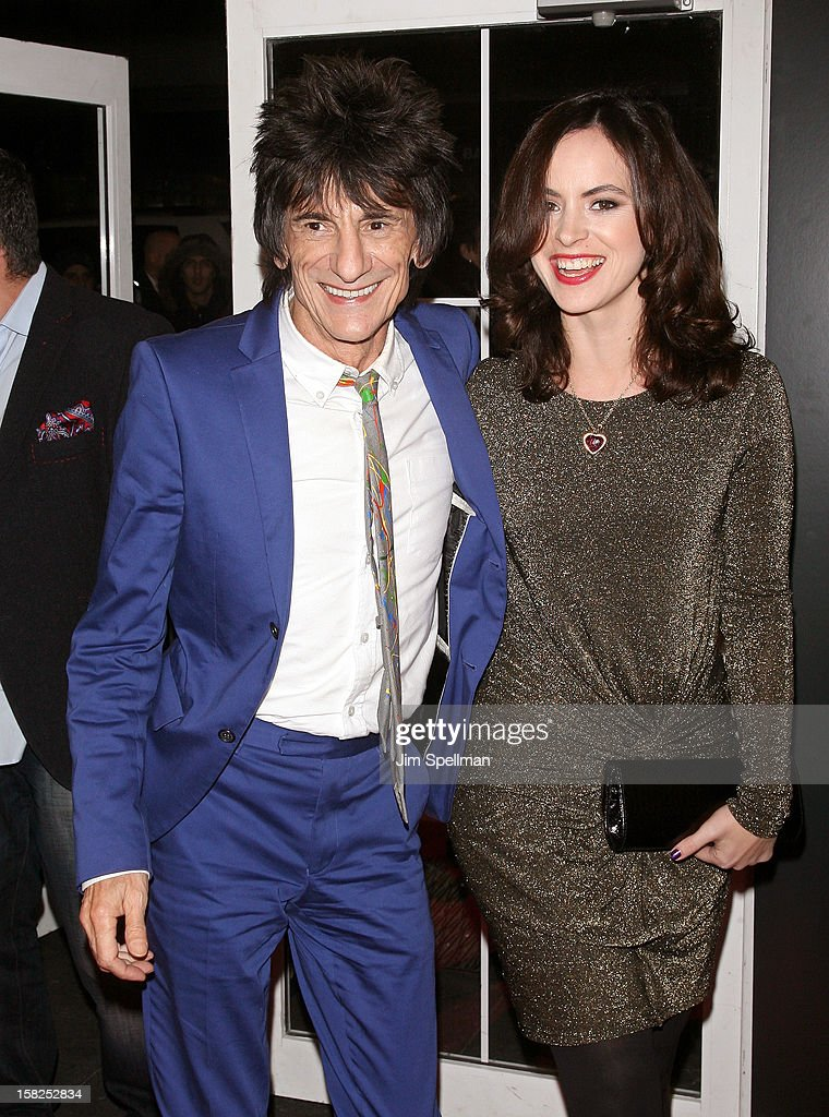 Ronnie Wood attends The Weinstein Company with The Hollywood Reporter, Samsung Galaxy & The Cinema Society screening of 'Django Unchained' at the Ziegfeld Theatre on December 11, 2012 in New York City.