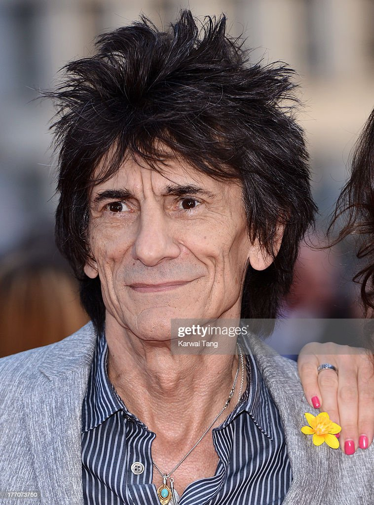 Ronnie Wood attends the World Premiere of 'One Direction: This Is Us' at Empire Leicester Square on August 20, 2013 in London, England.