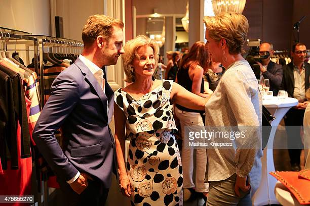 Ronny Borck and Elisabeth Guertler attend the Escada 'Fete Imperiale' 2015 on June 2 2015 in Vienna Austria