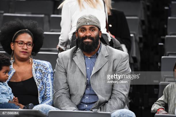 Ronny Turiaf during the Final of the French Cup between Le Mans and JSF Nanterre at AccorHotels Arena on April 22 2017 in Paris France