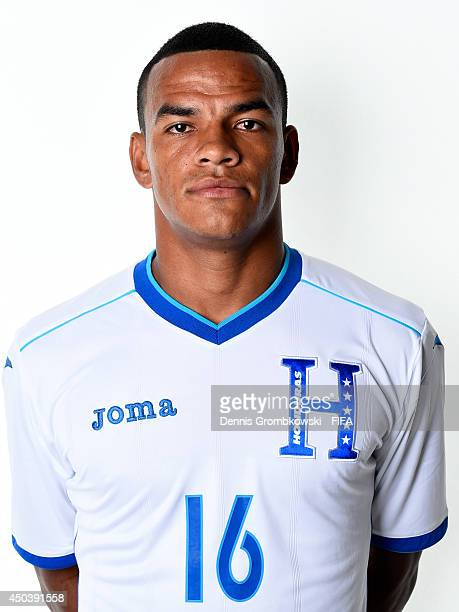 Rony Martinez of Honduras poses during the Official FIFA World Cup 2014 portrait session on June 10 2014 in Porto Feliz Brazil