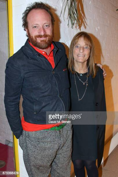 Roo Rogers and Lady Ruth Rogers attend the launch of Second Home Holland Park on November 16 2017 in London England