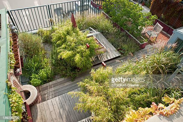 Roof garden in Vienna, Austria
