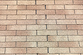 Roof shingles background texture or pattern
