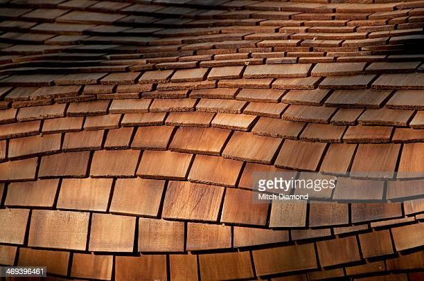 Roof shingles design