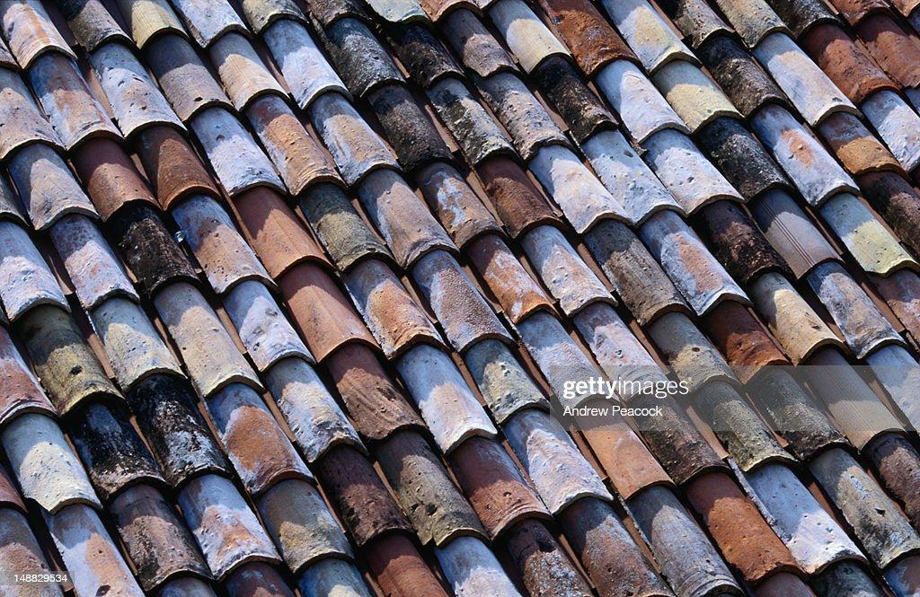 Roof tiles in Arco