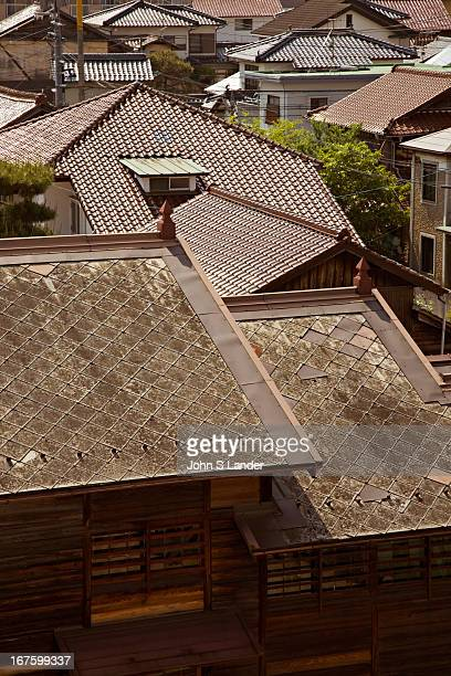 Roof tiles of slate or ceramics are common even nowadays in Japan These building materials help insulate the building during the long hot summers and...