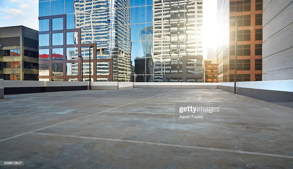 Roof top parking lot