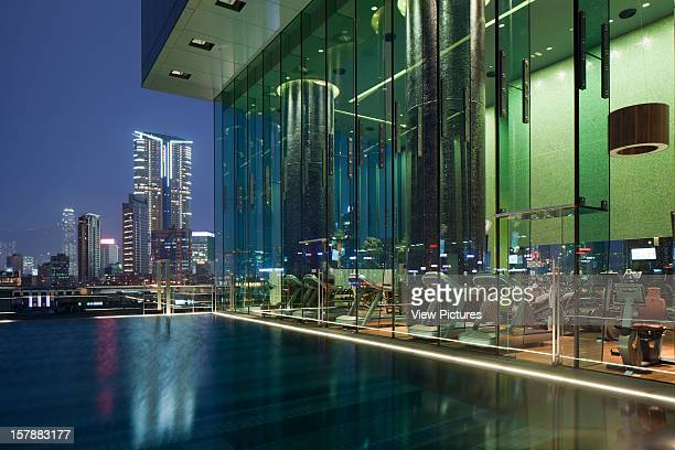 Roof Top Pool With A View Of Hong Kong Island Rocco Yim China Architect