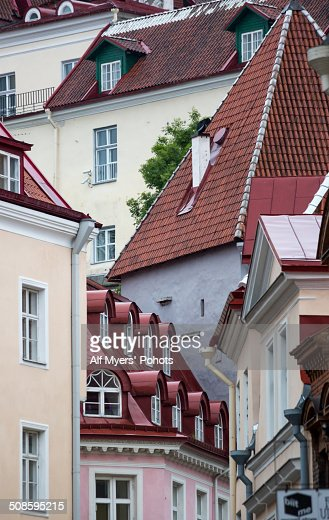 Roof Tops and Windows : Foto stock
