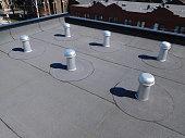flat roof ventilation cones