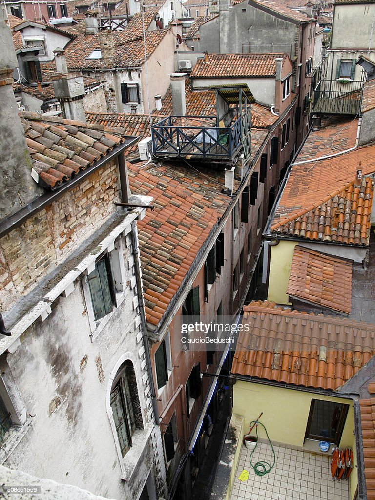 roofs in Venice : Stock Photo